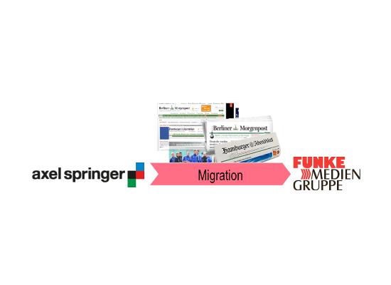 Migration von Zeitungsproduktion im laufenden Betrieb